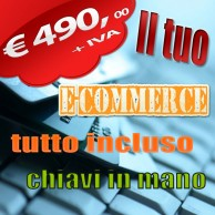sito web  e-commerce - eshop