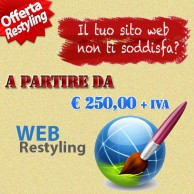 Restyling sito web a salerno