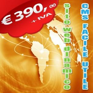 Realizzazione Sito web dinamico - cms webideale - Salerno
